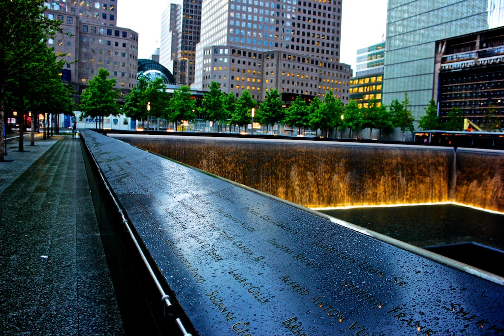 Standing at Ground Zero